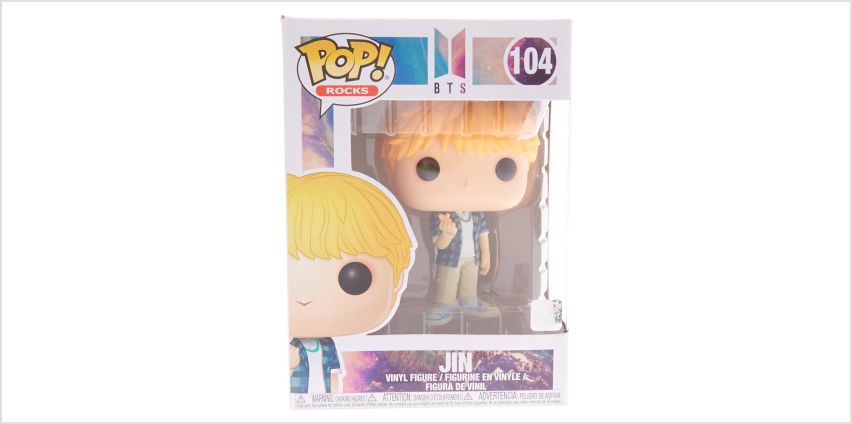 Go to Product: Pop!® Rocks BTS Vinyl Figure – Jin from Claires