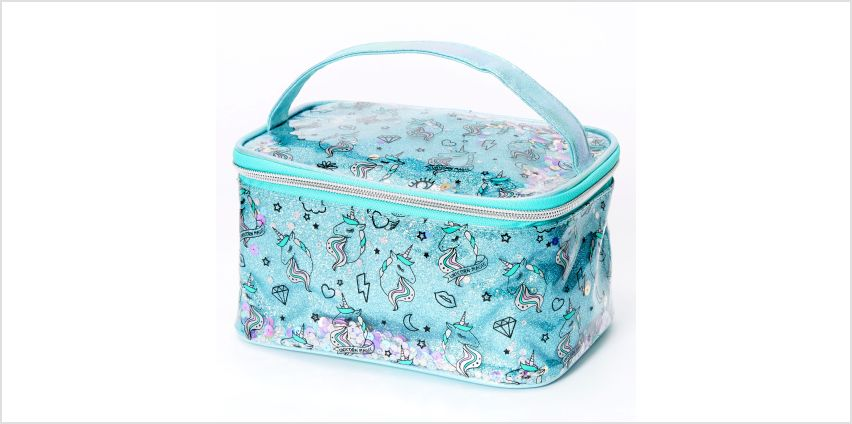 Go to Product: Unicorn Magic Makeup Bag - Mint from Claires