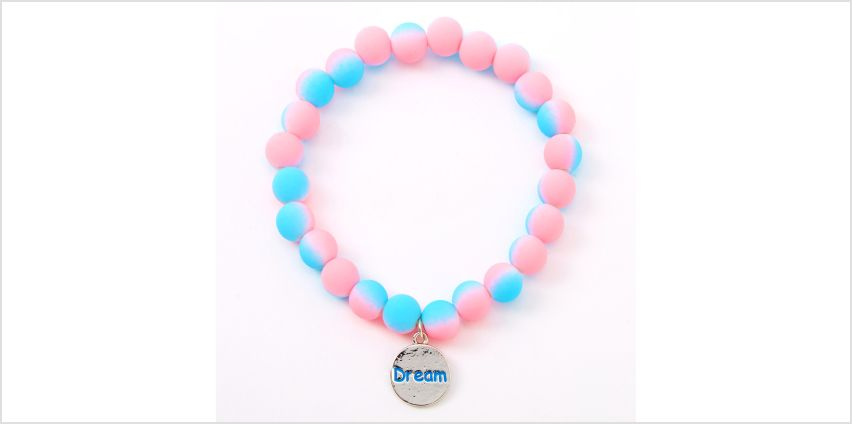 Go to Product: Ombre Matte Dream Beaded Stretch Bracelet from Claires