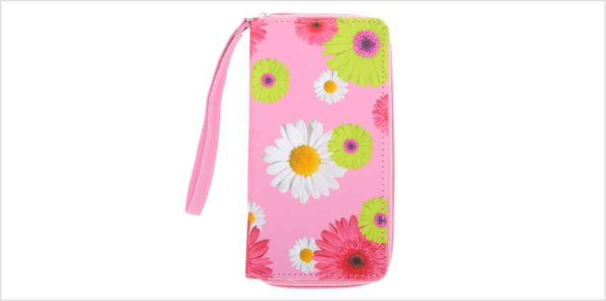 Go to Product: Daisy Floral Wristlet - Pink from Claires