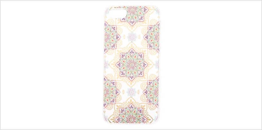 Go to Product: Boho Mandala Flower Phone Case - Fits iPhone 5/5S/SE from Claires