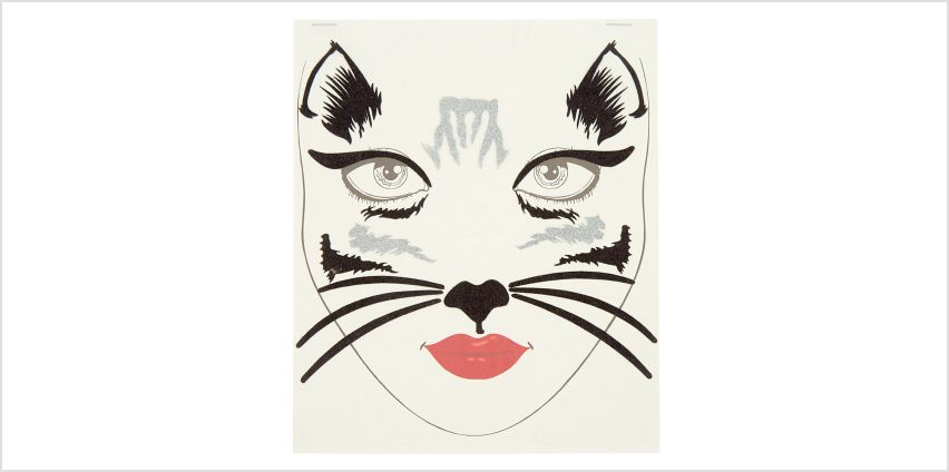 Go to Product: Glitter Cat Face Stickers - Black from Claires