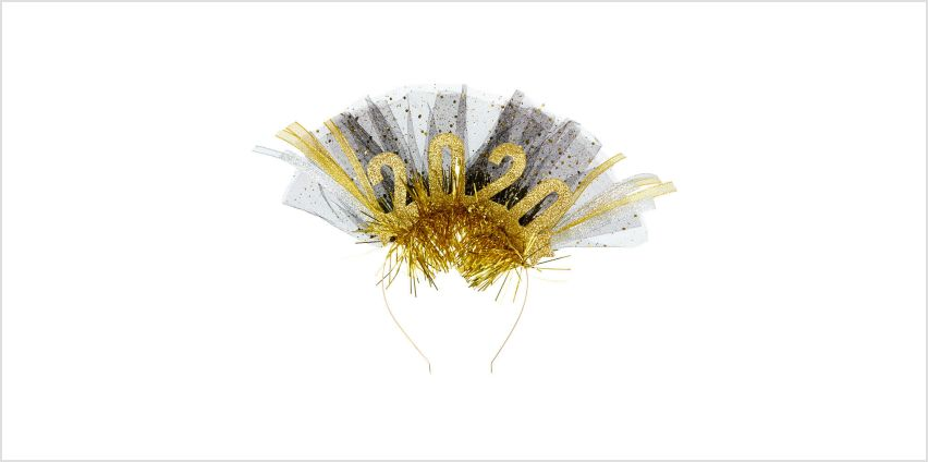 Go to Product: 2020 Party Headband - Gold from Claires