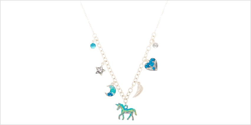 Go to Product: Cosmic Unicorn Statement Necklace - Blue from Claires