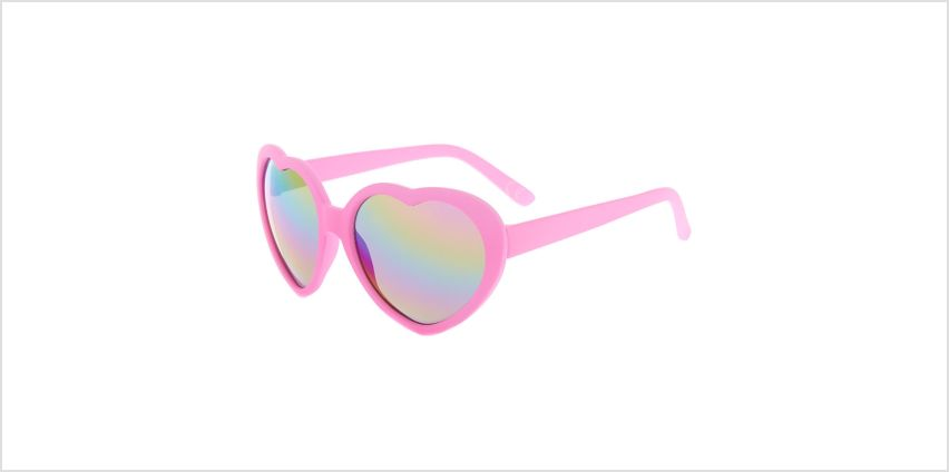 Go to Product: Claire's Club Heart Shaped Sunglasses - Pink from Claires