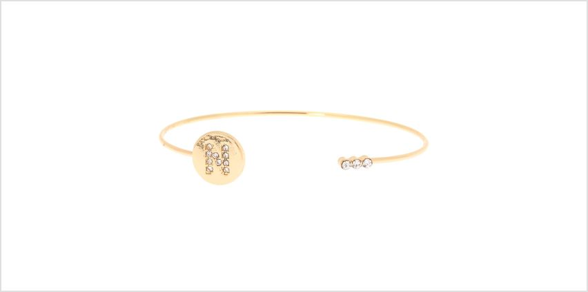 Go to Product: Gold Initial Cuff Bracelet - N from Claires
