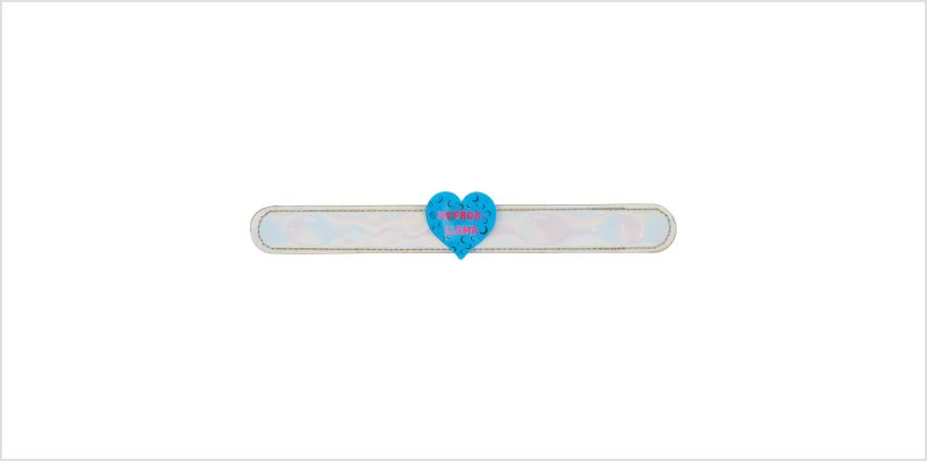 Go to Product: No Prob-Llama Holographic Slap Bracelet from Claires