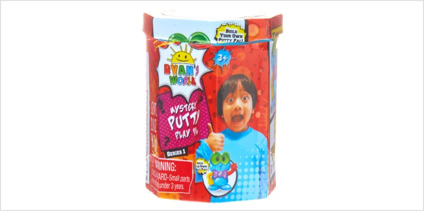 Go to Product: Ryan's World™ Mystery Putty Play Pal Series 1 – Styles may vary from Claires