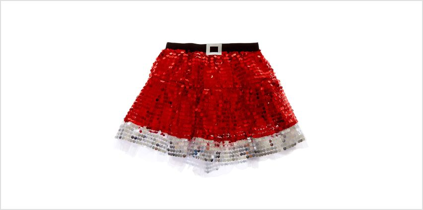 Go to Product: Sequin Santa Tutu - Red from Claires