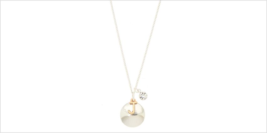 Go to Product: Initial Charm Pendant Necklace - J from Claires