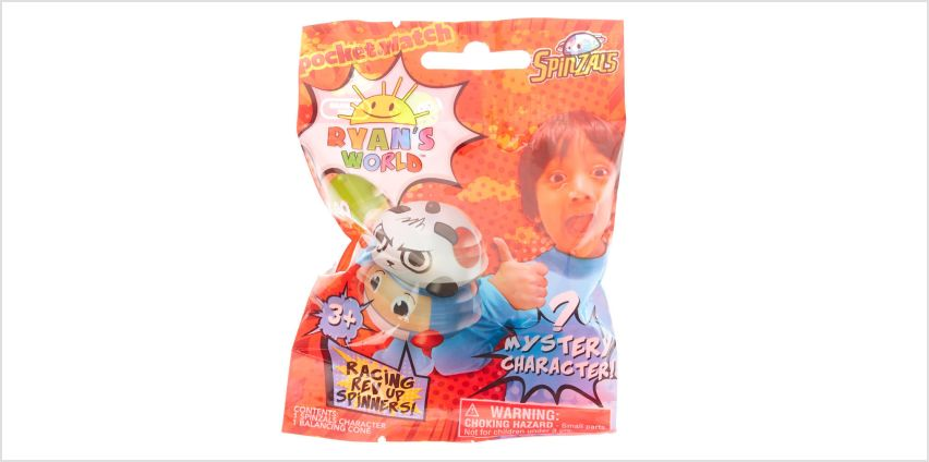 Go to Product: Ryan's World™ Racing Rev Up Spinners Blind Bag - Styles May Vary from Claires