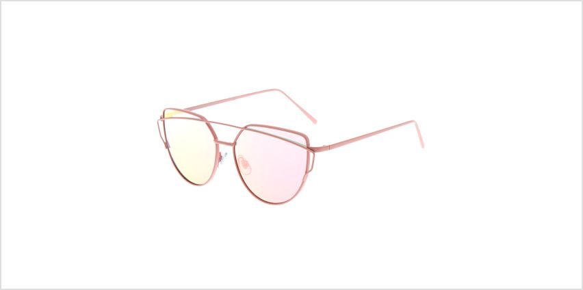 Go to Product: Pink Mirrored Cat Eye Sunglasses from Claires