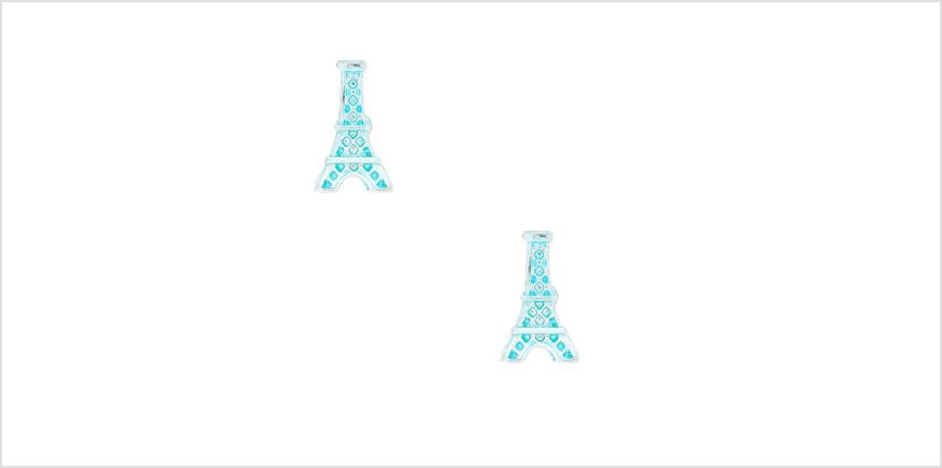 Go to Product: Eiffel Tower Stud Earrings - Mint from Claires