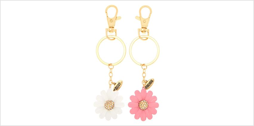 Go to Product: Best Friends Daisy Keychains - 2 Pack from Claires