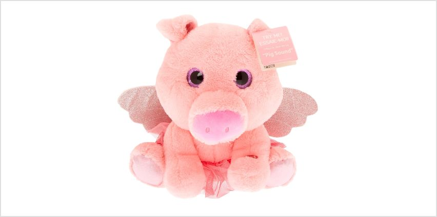 Go to Product: Claire's Club Oinking Pig Soft Toy - Pink from Claires