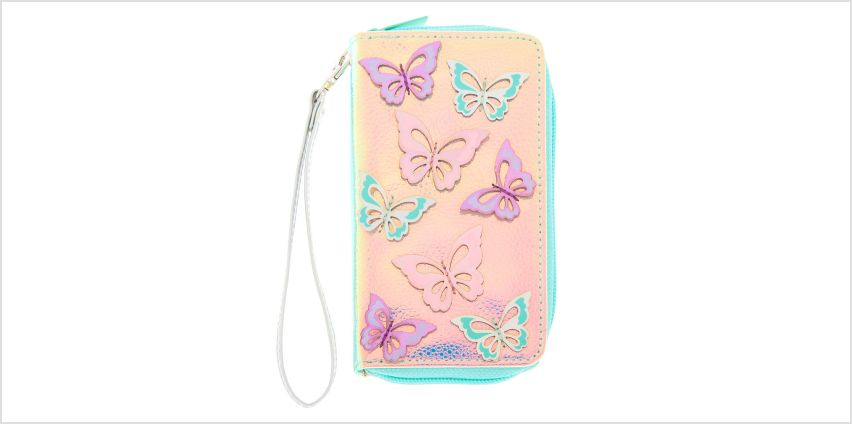 Go to Product: Holographic Butterfly Wristlet - Turquoise from Claires