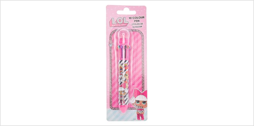 Go to Product: L.O.L. Surprise!™  10 colour pen - Pink from Claires