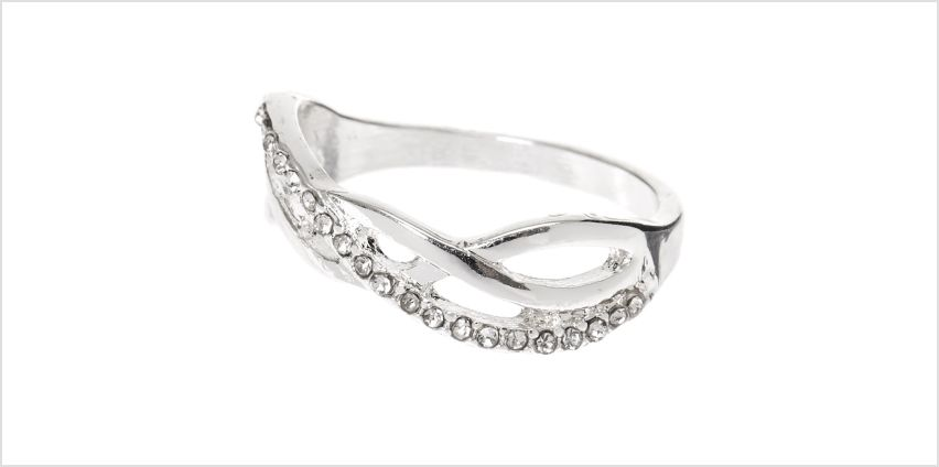 Go to Product: Silver Embellished Weave Ring from Claires