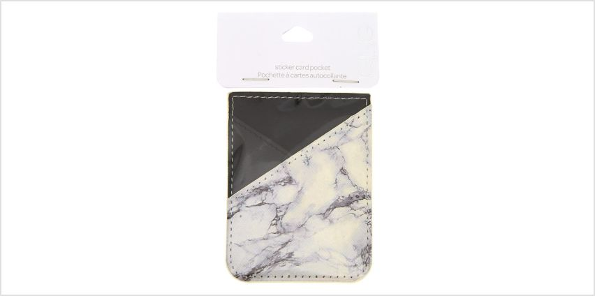 Go to Product: Marble Stick On Card Pocket from Claires