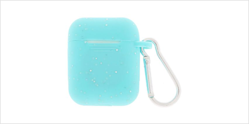 Go to Product: Mint Silicone Earbud Case Cover - Compatible With Apple AirPods from Claires