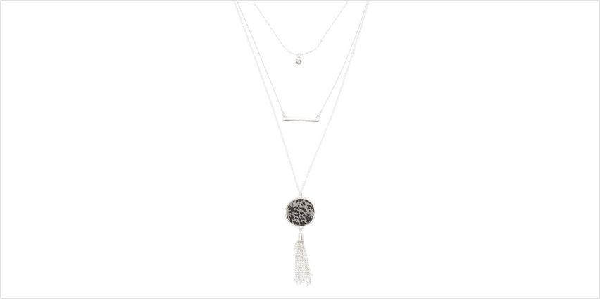 Go to Product: Silver Snakeskin Multi Strand Necklace from Claires