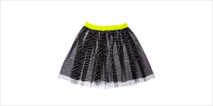 Go to Product: Long Zebra Print Tutu from Claires