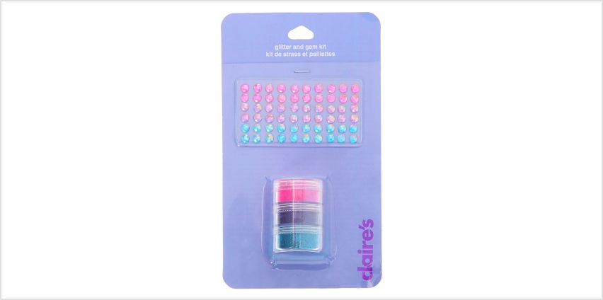 Go to Product: Glitter and Gems Kit from Claires