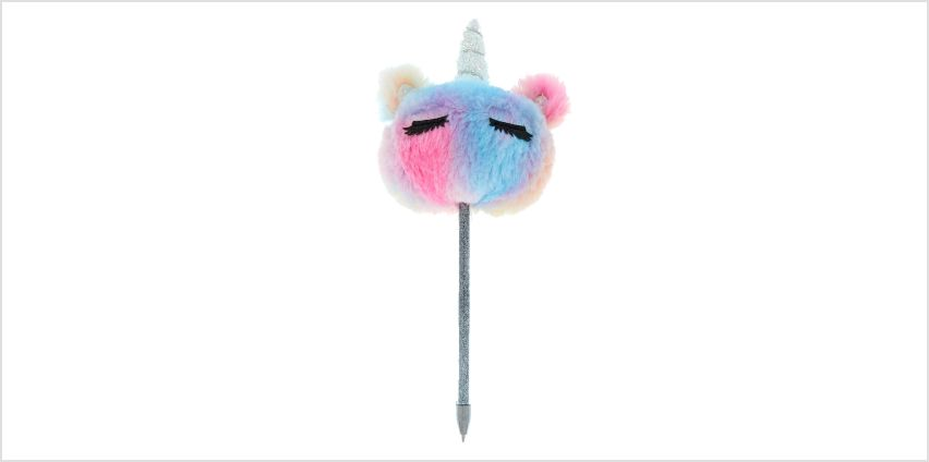 Go to Product: Pastel Rainbow Unicorn Soft Pen from Claires