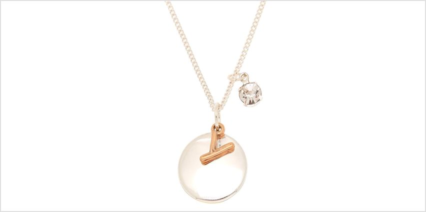 Go to Product: Mixed Metal Initial Charm Pendant Necklace - Y from Claires