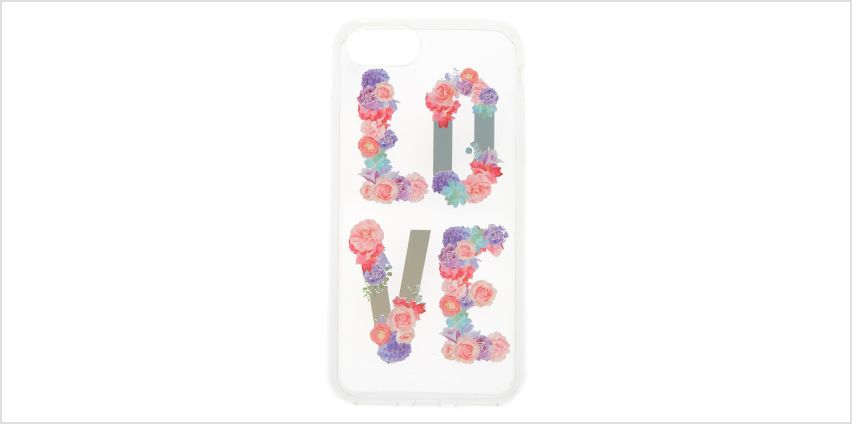Go to Product: Love Pastel Flower Phone Case - Fits iPhone 6/7/8 from Claires