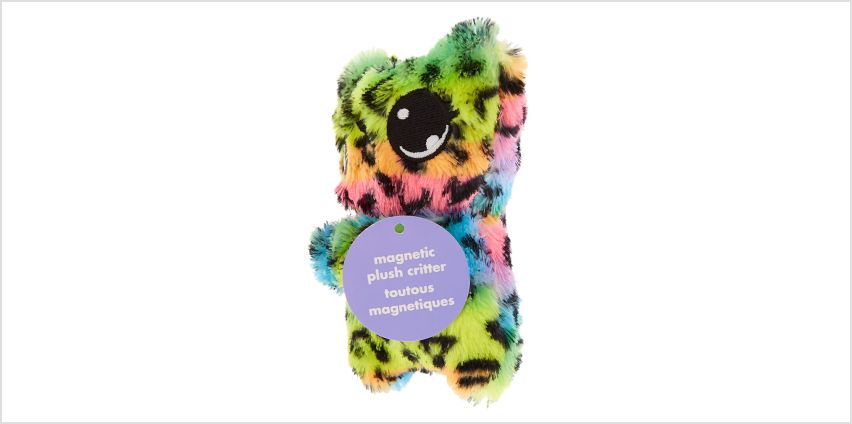 Go to Product: Lulu the Leopard Magnetic Plush Critter from Claires