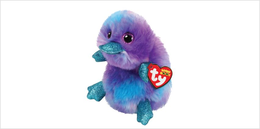 Go to Product: Ty Beanie Boo Medium Zappy the Platypus Soft Toy from Claires