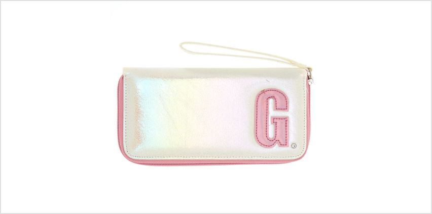 Go to Product: Pearlescent Initial Wristlet - G from Claires