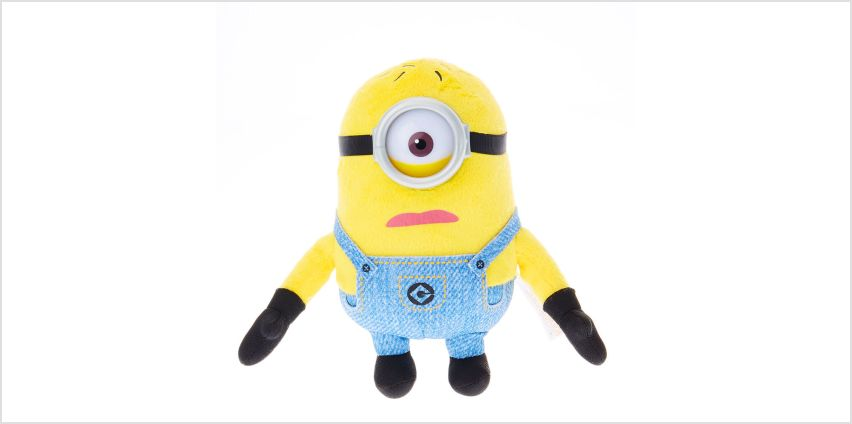 Go to Product: Despicable Me 3 Small Classic Minion Lucky Dip Soft Toy from Claires
