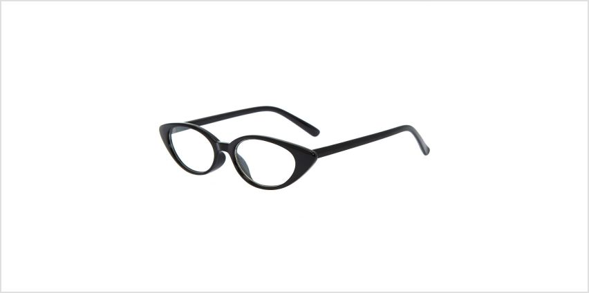 Go to Product: Cat Eye Clear Lens Frames - Black from Claires