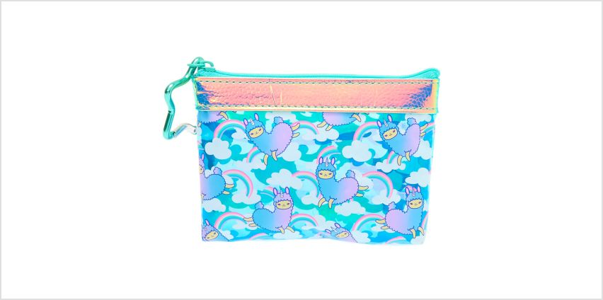 Go to Product: Lala the Llamacorn Zip Coin Purse - Mint from Claires