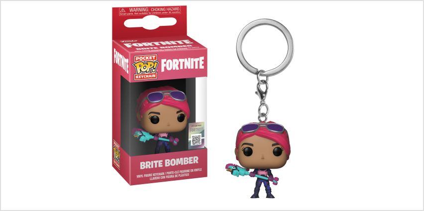 Go to Product: Fortnite Brite Bomber Vinyl Keychain from Claires