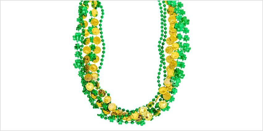 Go to Product: Beaded Lucky Necklaces - Green, 6 Pack from Claires