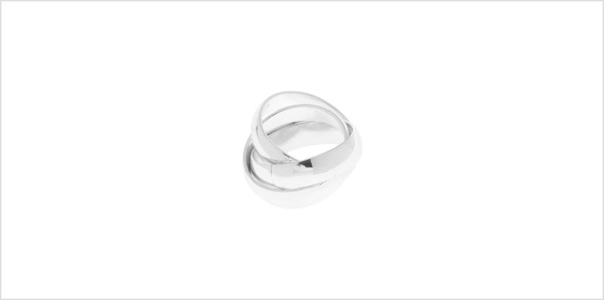 Go to Product: Silver Triple Criss Cross Ring from Claires