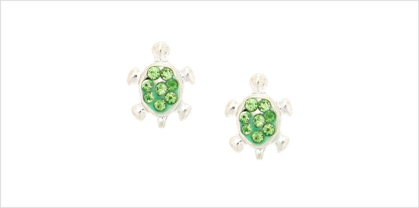 Go to Product: Silver Turtle Magnetic Stud Earrings - Green from Claires