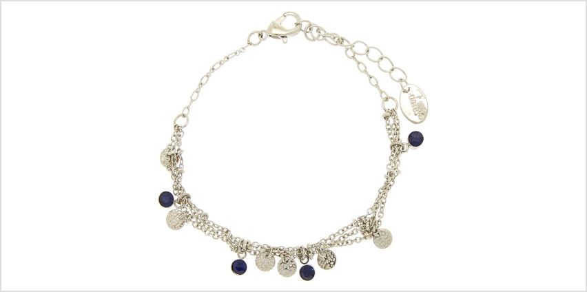 Go to Product: Silver Filigree Stone Chain Bracelet from Claires