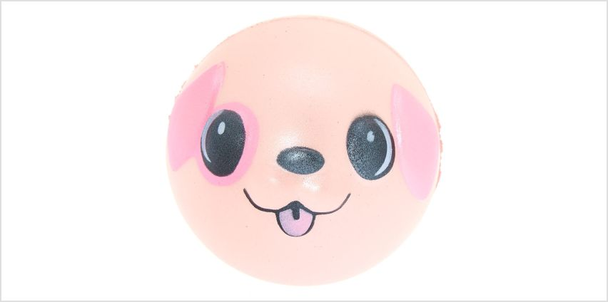 Go to Product: Puppy Ball Squish Toy - Pink from Claires
