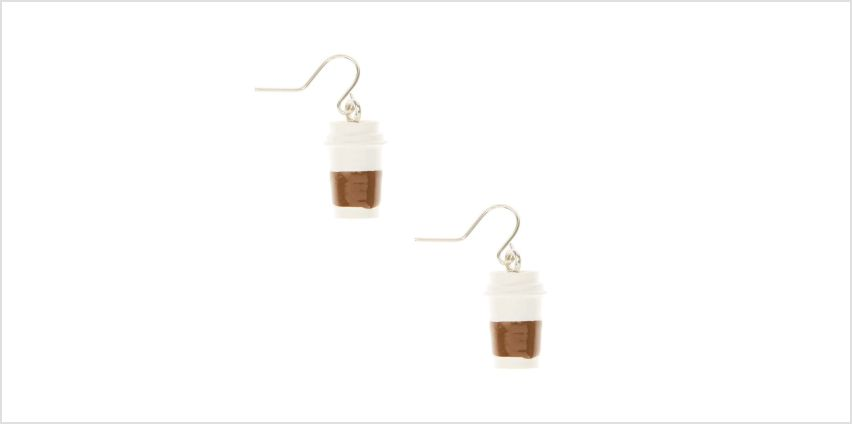 Go to Product: Coffee Cup Drop Earrings from Claires