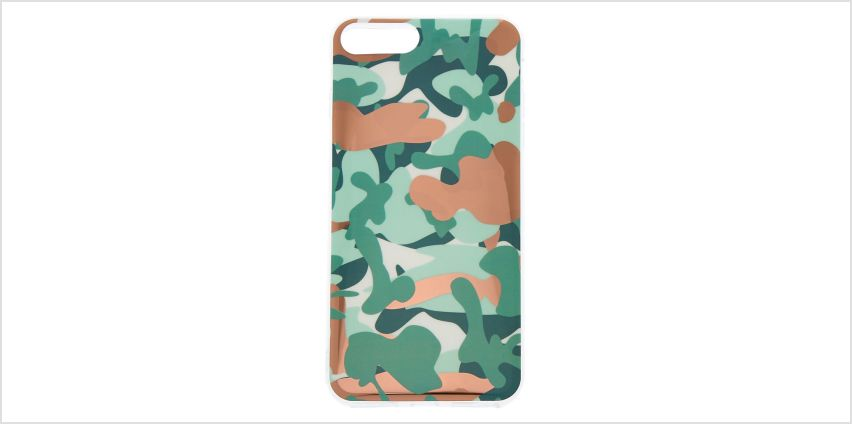 Go to Product: Rose Gold Camo Phone Case - Fits iPhone 6/7/8/SE from Claires