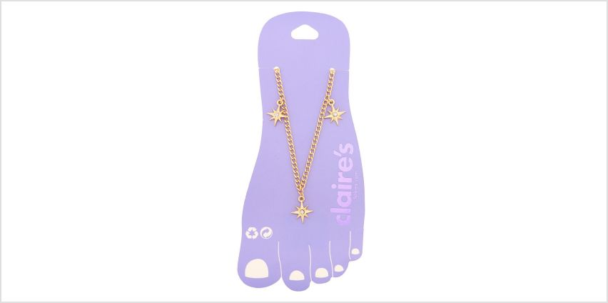 Go to Product: Gold Starburst Anklet from Claires