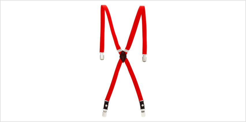 Go to Product: Skinny Braces - Red from Claires