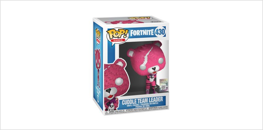 Go to Product: Fortnite Cuddle Team Leader Vinyl Figure - Pink from Claires