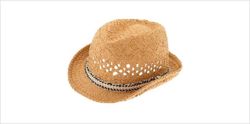 Go to Product: Fringe Fedora Hat - Black from Claires