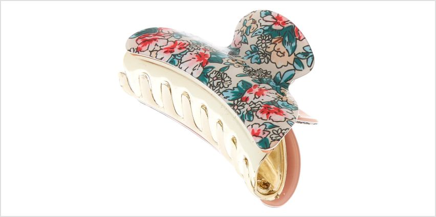 Go to Product: Floral Hair Claw - Pink from Claires