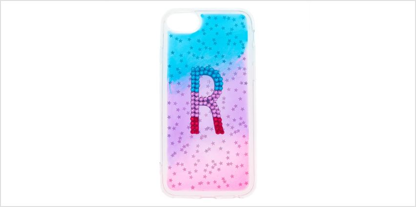 Go to Product: Ombre Star R Initial Phone Case - Fits iPhone 6/7/8 from Claires